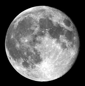 Full Moon view from earth