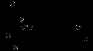 Strukturformel von Fumagillin
