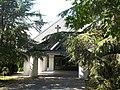 Funerary home in Árpád Street's cemetery, Hévíz, 2016 Hungary.jpg
