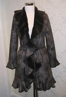 bae6119e622 Jens Asendorf rabbit fur coat