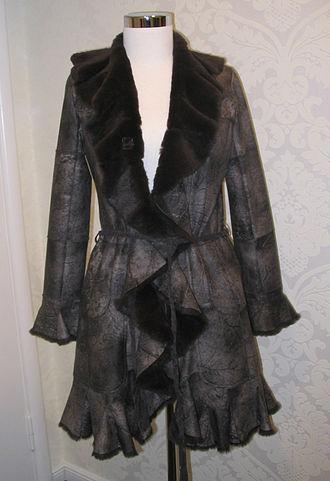 Rabbit hair - Jens Asendorf rabbit fur coat