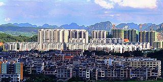 Fusui County County in Guangxi, Peoples Republic of China