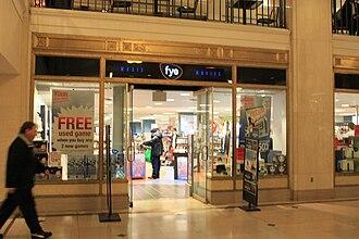 FYE (retailer) - FYE store, Tower City Center, Cleveland, Ohio
