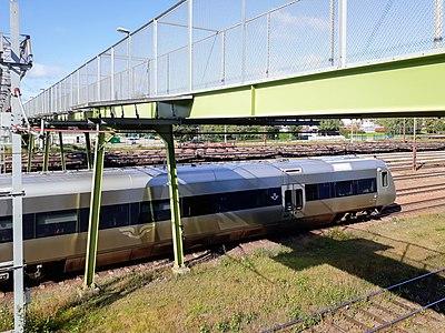 Gångbron Avesta-Krylbo station 2017-09-01.jpg