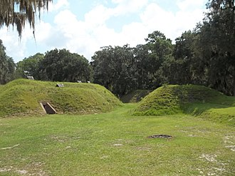 Fort McAllister Historic State Park - Inside the fort