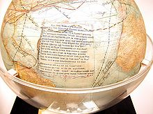 Fliers' & Explorers' Globe.