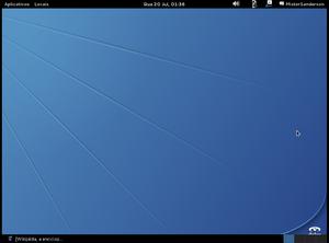 GNewSense - Image: G New Sense 4.0 desktop