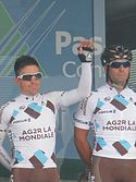 GP Isbergues 2013 - Coureurs AG2R.JPG