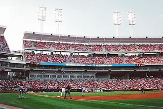 Great American Ball Park - A view of Great American Ball Park, including The Gap.