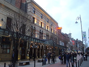 Eurovision Song Contest 1971 - Gaiety Theatre, Dublin – host venue of the 1971 Eurovision Song Contest
