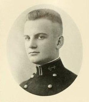 Nemo Gaines - Photo of Gaines in the 1921 US Naval Academy yearbook.