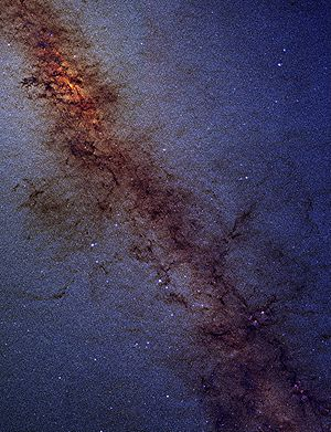 The Galactic Center as seen by one of the 2MAS...