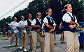 Games volunteers doing the macarena during the Atlanta Paralympics.jpg