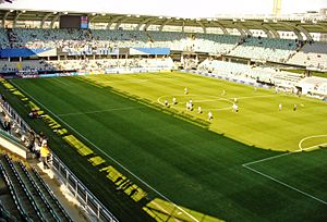 2013 IFK Göteborg season - Gamla Ullevi was the fourth largest stadium in Allsvenskan in 2013.