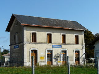 Gardonne station railway station in Gardonne, France