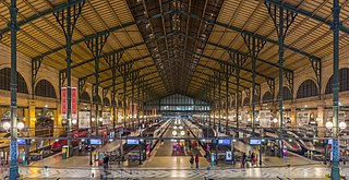 Gare du Nord Railway station in Paris