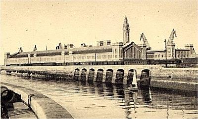 Gare Maritime de Cherbourg (1933)