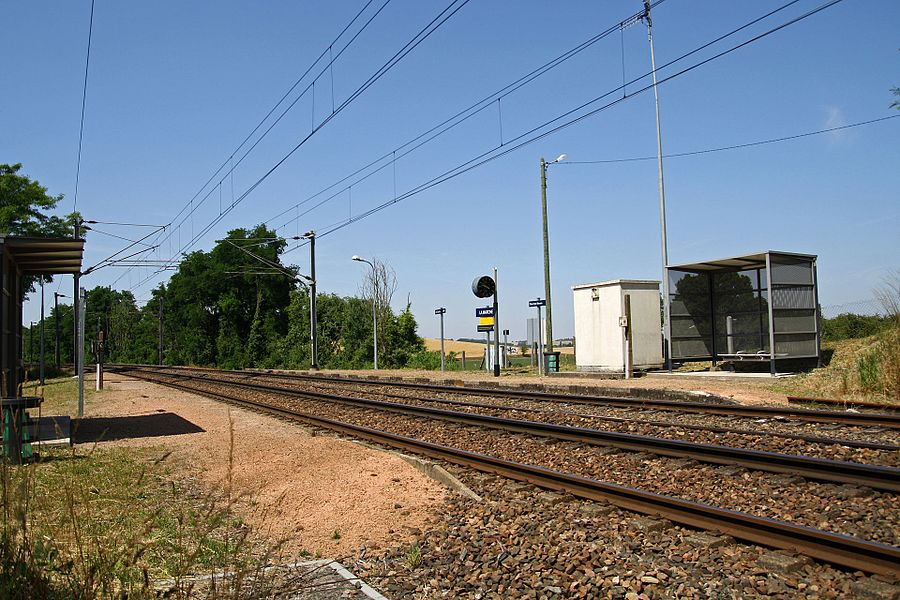 La Marche station, Nièvre, France