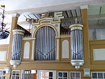 Garz Usedom Kirche Orgelprospekt.JPG