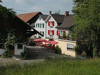 Schellenberg - Schellenberg in early-June 2007