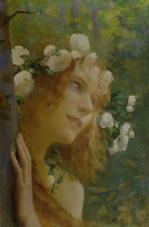 Nymph - Nymphe by Gaston Bussière