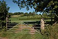 Gate into a field at Ponde - geograph.org.uk - 559638.jpg