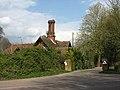 Gatehouse hiding behind high hedge - geograph.org.uk - 757535.jpg