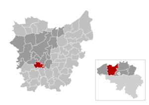 Gavere - Image: Gem Gavere Location