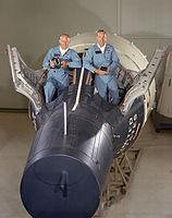 v.l. Edwin Aldrin und James Lovell