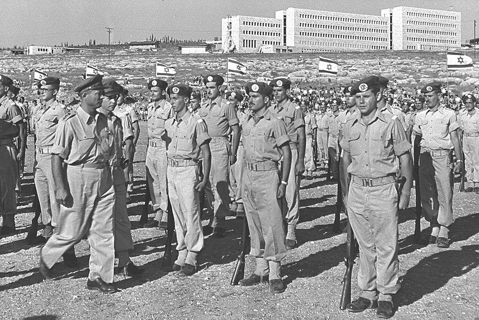 General Moshe Dayan 1955