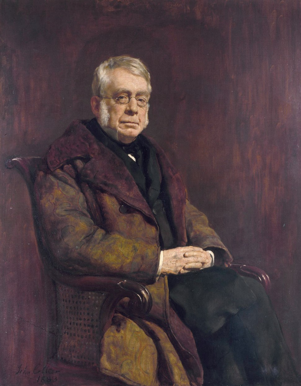 George Biddell Airy (1801-1892), by John Collier