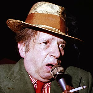 George Melly - Image: George Melly 1978