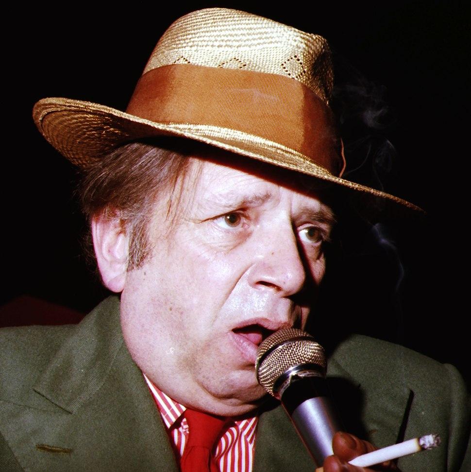 George Melly 1978