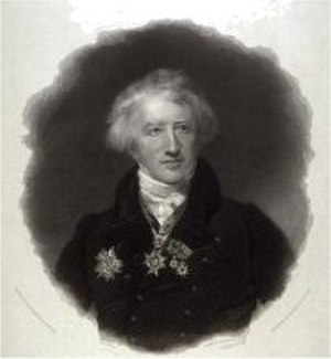 George Thomas Doo - Portrait of Georges Cuvier after the painting by Henry William Pickersgill
