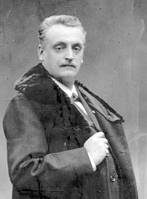Georges Gillet - Gillet in 1900