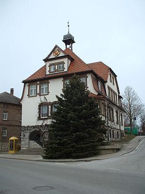 Gerabronn - Town hall
