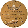 Gerald and Betty Ford Congressional Gold Medal (reverse).jpg