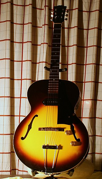 Gibson ES Series - Image: Gibson ES 125