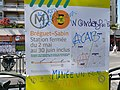 Gilets jaunes, Paris - 20 Apr 2019 - Graffitis ACAB.jpg