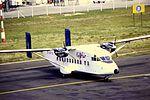 Gill Air SH 330 G-BIYH at NCL (15947824120).jpg