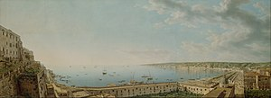 Giovanni Battista Lusieri - View of the Bay of Naples, ca. 1791
