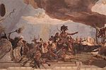 Giovanni Battista Tiepolo - Apollo and the Continents (America, left-hand side) - WGA22325.jpg