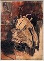 Giovanni boldini, la camicia del frac, 1890-1900 ca., matita e sanguigna.jpg