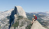 Girl Posing at Glacier Point Yosemite 2013.jpg