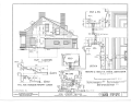 Glebe House, 635 Main Street, Poughkeepsie, Dutchess County, NY HABS NY,14-POKEP,1- (sheet 6 of 11).png