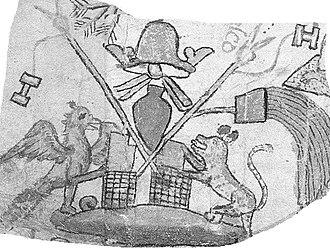 Azcapotzalco - 17th century glyph to denote Azcapotzalco
