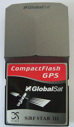 SiRFstarIII - CompactFlash SirfStar III receiver