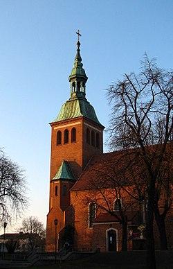 Gniezno. Wzgórze Zbarskie. Kościół św. Michała Archanioła.Luty 2008