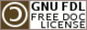 GNU Free Documentation License logo