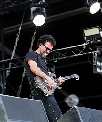 Tony Rombola - Rombola performing with Godsmack in 2015